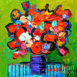 Mona Edulesco - Floral Miniature - Abstract 0315