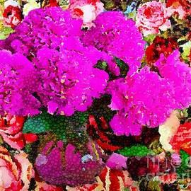 Catherine Lott - Floral Mosaic Inlay