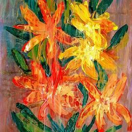 Dimitra Papageorgiou - Floral Yellow Orange