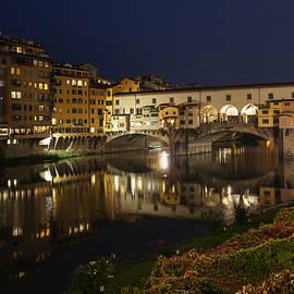 Georgia Mizuleva - Florence Italy Night Magic - A Glamorous Evening at Ponte Vecchio