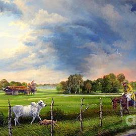 Daniel Butler - Florida Cracker Cowboy - Spring Storms