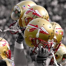 Mike Olivella - Florida State Football Helmets