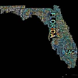 Barbara Chichester - Florida Word Art Map