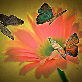 Anthony Caruso - Flower and Butterflies