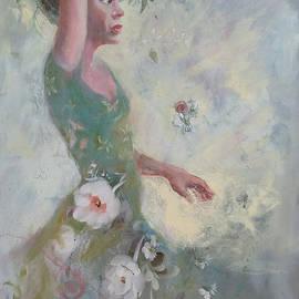 Gertrude Palmer - Flower Vender