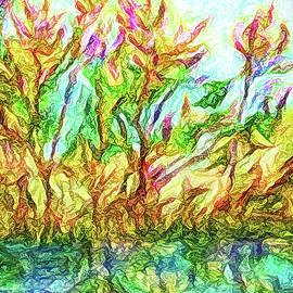 Joel Bruce Wallach - Flowering Reflections