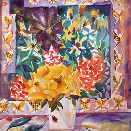 Mindy Newman - Flowers and Butterflies