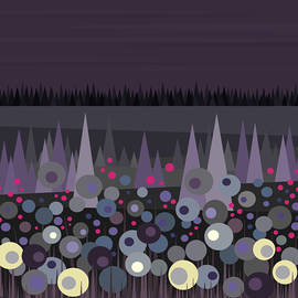 Val Arie - Flowers at Night - No Moon