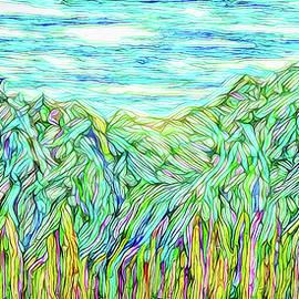 Joel Bruce Wallach - Flowing Green Mountains - Colorado Front Range
