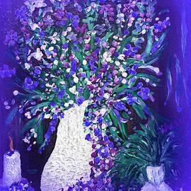 Sherri  Of Palm Springs - Flwer Art  Spring flowers In A Vase