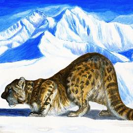 Zong Yi - Focus/ Patience and Perseverance - Snow Leopard