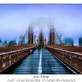 Fog Over The Brooklyn Poster Print - Az Jackson