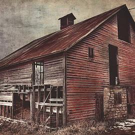 Anna Louise - Foggy Winter Red Barn
