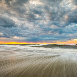 Dave Allen - Folly Beach Sunrise Charleston SC Seascape