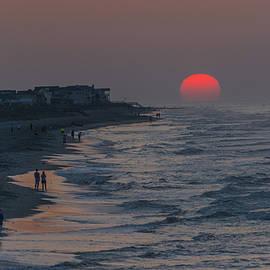 Riddhish Chakraborty - Folly Beach sunrise