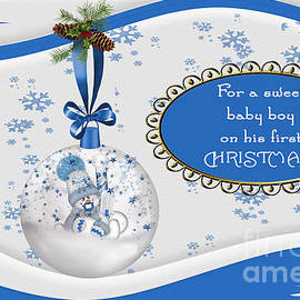 Vickie Emms - For a sweet baby boy on his first CHRISTMAS