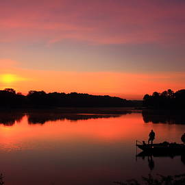 Reid Callaway - For The Love Of Fishing Sunrise Reflections