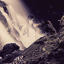 Frances Lewis - Sacred waterfall