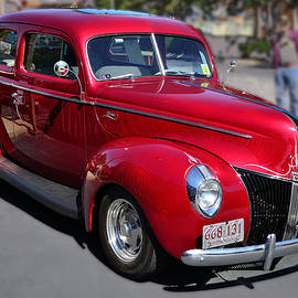 Larry Bishop - Ford 40 in Red