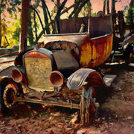 Glenn McCarthy Art and Photography - Ford Flatbed Truck