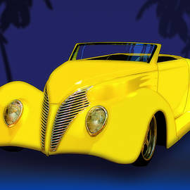 Chas Sinklier - Ford Roadster 1937 in the Palms