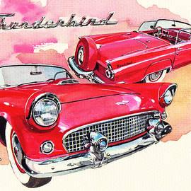 Ford Thunderbird - Yoshiharu Miyakawa