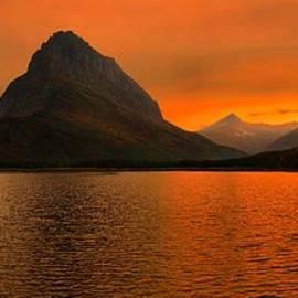 Adam Jewell - Forest Fire Sunset