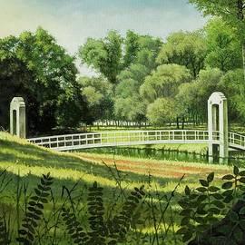 Michael Frank - Forest Park Footbridge