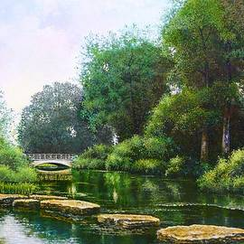 Michael Frank - Forest Park Stepping Stones
