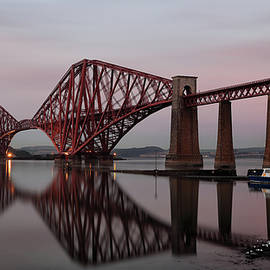 Maria Gaellman - Forth Bridge at Sunset