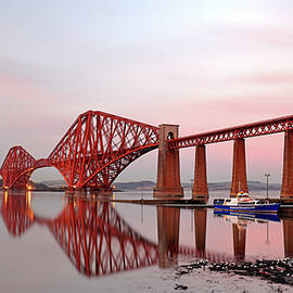 Grant Glendinning - Forth Railway Bridge Sunset