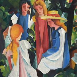 Four Girls - August Macke