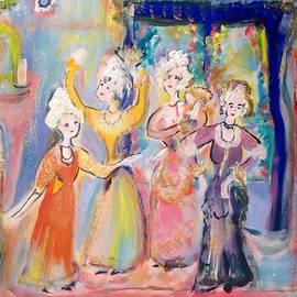 Judith Desrosiers - Four Ladies Dancing