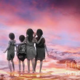 Charuhas Images - Four Little Friends