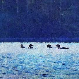 Joy Nichols - Four Loons On Parker Pond