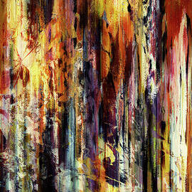 Georgiana Romanovna - Four Seasons In One Forest Abstract