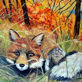 Julie Brugh Riffey - Fox-   Fox In Hiding