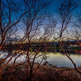 Randy Scherkenbach - Fox River Blue Hour