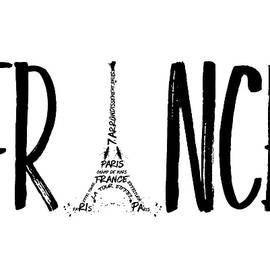 FRANCE Typography - Melanie Viola