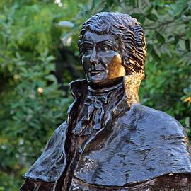 Cora Wandel - Francis Scott Key Park -- The Star Spangled Banner Monument