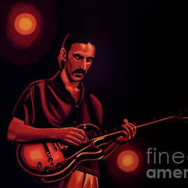 Paul Meijering - Frank Zappa Painting