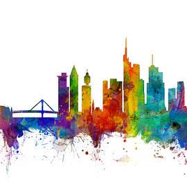 Frankfurt Germany Skyline - Michael Tompsett