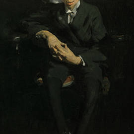 Frankie, the Organ Boy - George Bellows