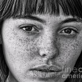 Jim Fitzpatrick - Freckle Face CloseUp II