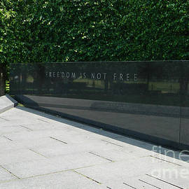 Emmy Marie Vickers - Freedom Is Not Free - Korean War Veterans Memorial II