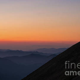 Fremont Lookout Sunset Layers Vision - Mike Reid