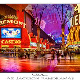 Fremont Street Experience Poster Print - Az Jackson