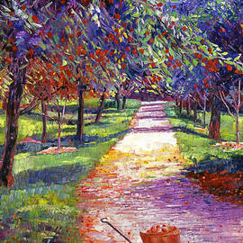 David Lloyd Glover - French Apple Orchards