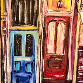 Paula   Baker - French Quarter Front Doors