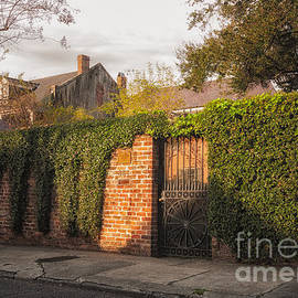 Kathleen K Parker - French Quarter Wall and Home- NOLA